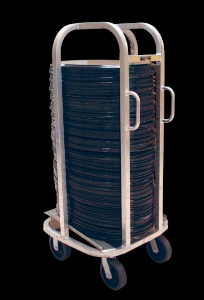 Full Oval Tray Cart