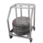 Half Oval Tray Cart