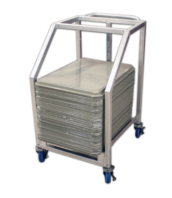 Half Sheet Pan Cart